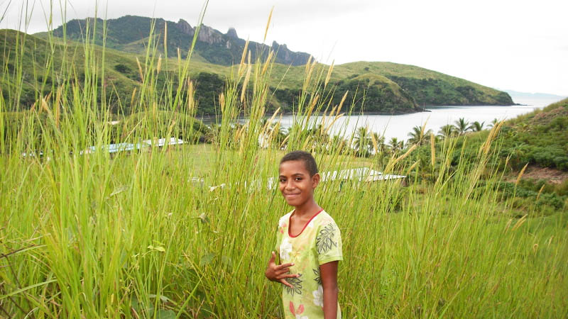 Fiji-Naboro-village