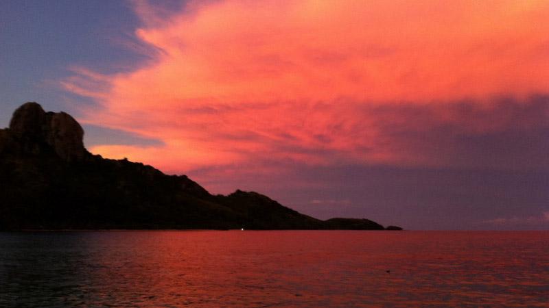 Kuata-Island-Sunset