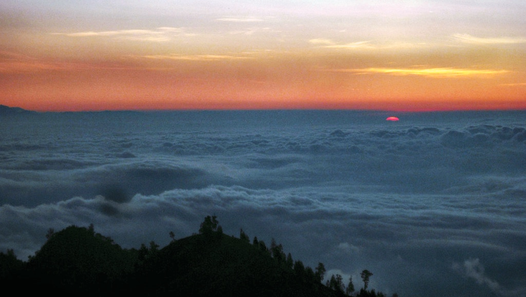 Mount Rinjani Volcano
