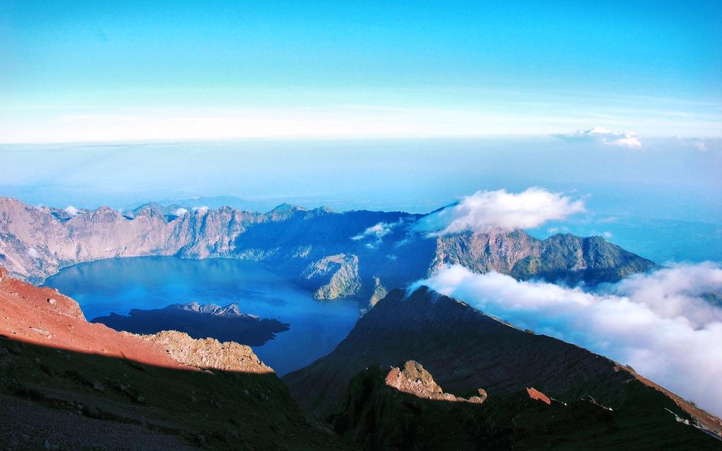 Mount Rinjani Lombok Adasi