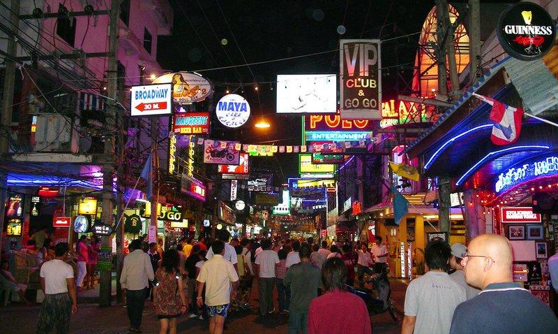 Pattaya-Gece-Hayati-Walking Street-Pattaya