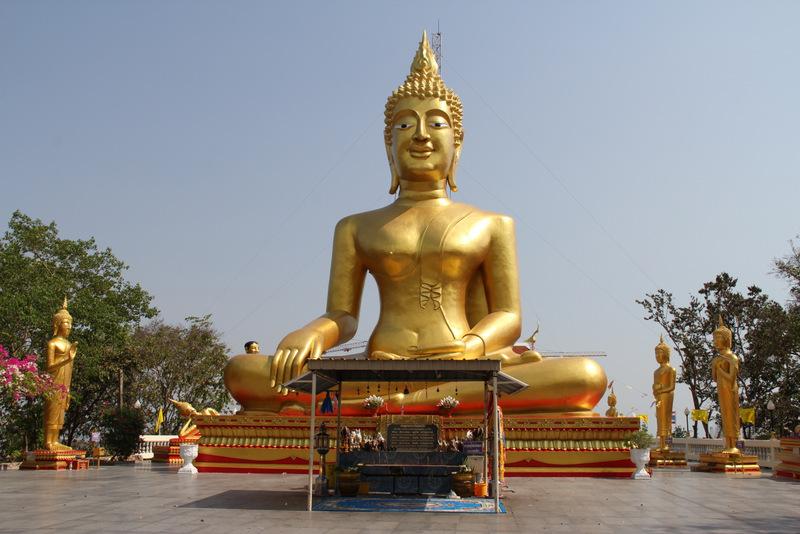 Wat Phra Yai Temple- Budist-Pattaya