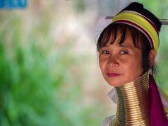 Long Neck Karen Hiiltribe-Thailand_Chiang Mai_Tayland_Padaung