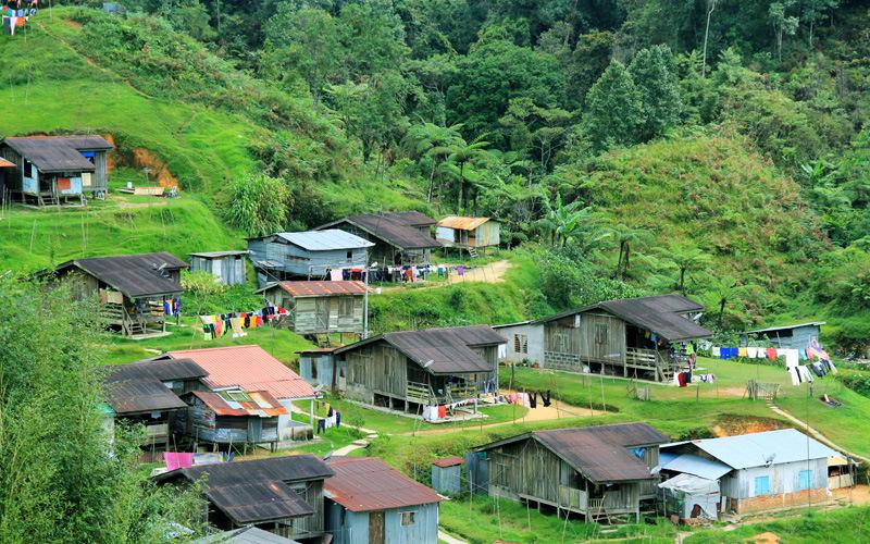 Orang-Asli-Village-Malaysia