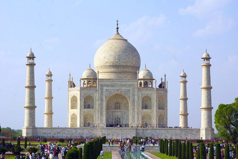 Taç Mahal, Agra, Hindistan
