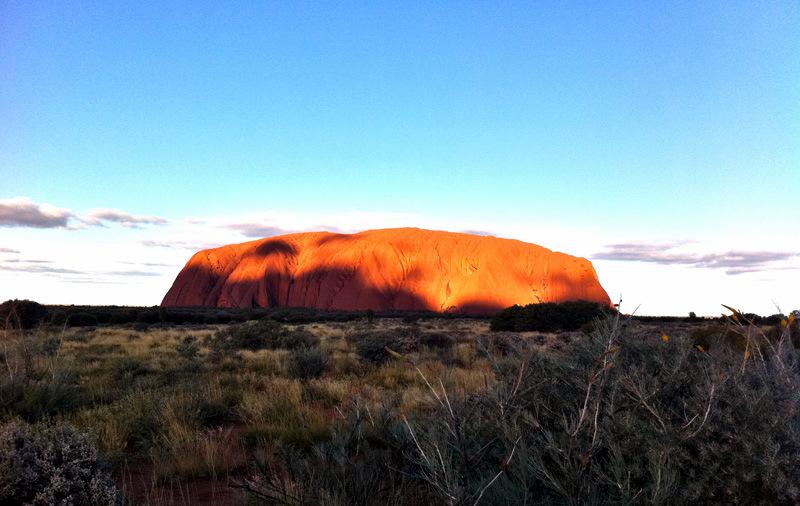 Uluru-Ayers Rock-Avustralya