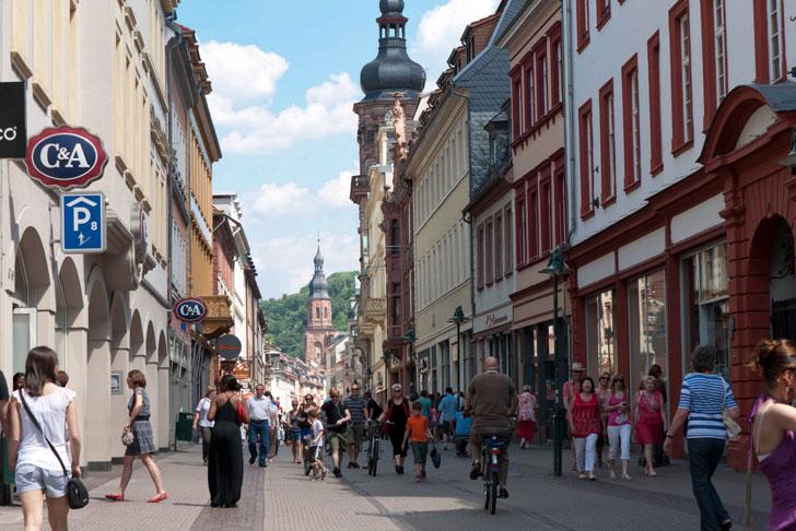 Hauptstraße, Heidelberg, Germany