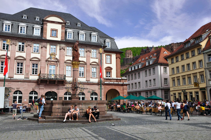 Marktplatz-Heidelberg
