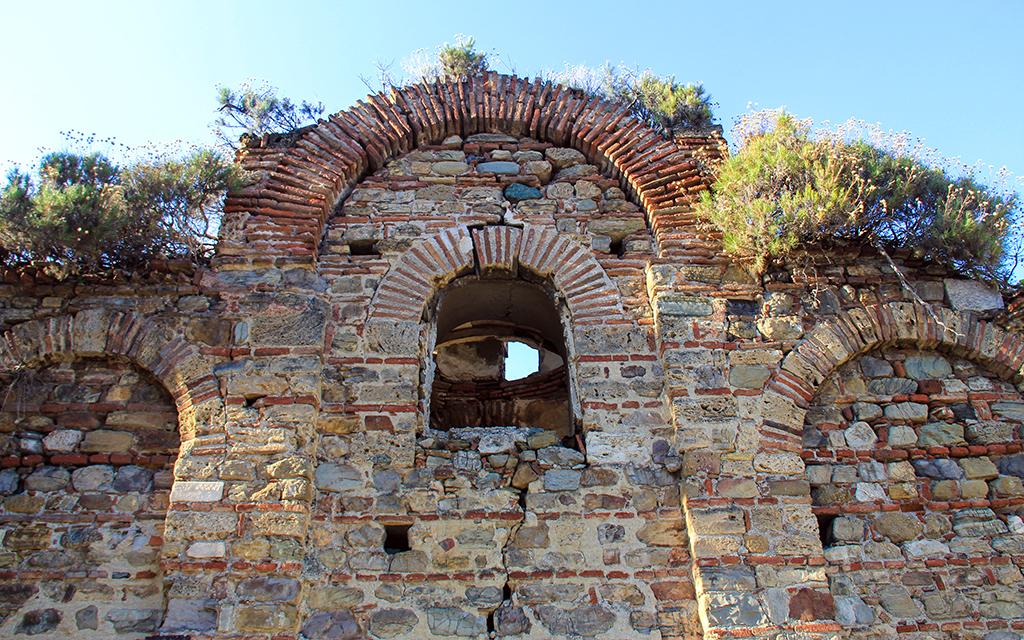 Panagia Pontobasilissa Church Turkey