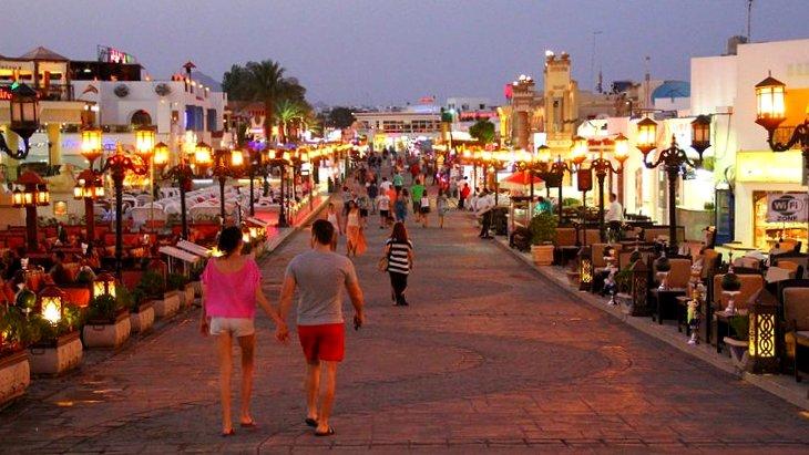 Naama Bay, Sharm EL Sheikh, Egypt