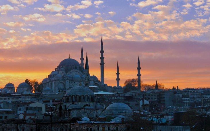 Istanbul-Gunbatimi