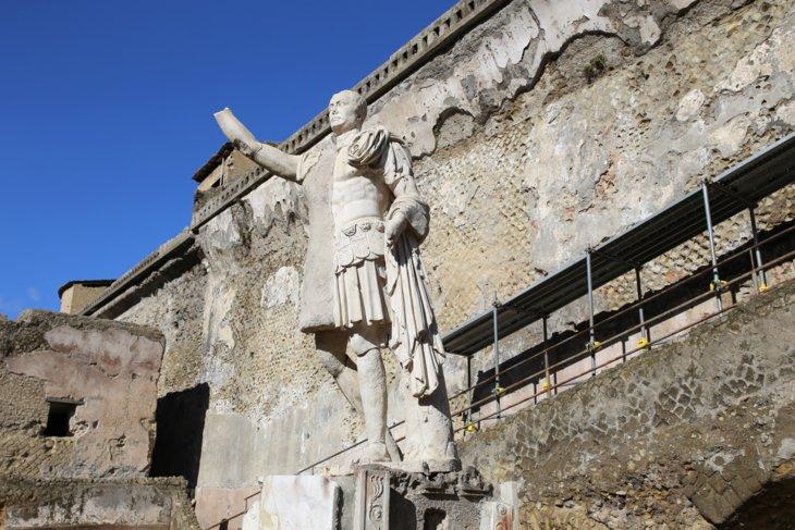 Antik-Kent-Herculaneum