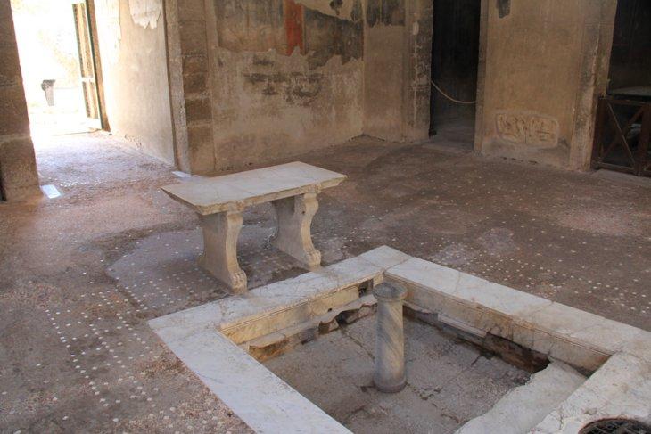 Herculaneum Şehri, italya