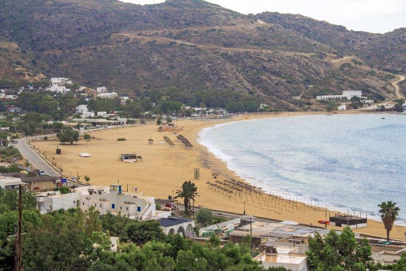 Mylopotas Beach, Ios, Grece