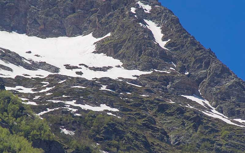 Alibek-Glacier