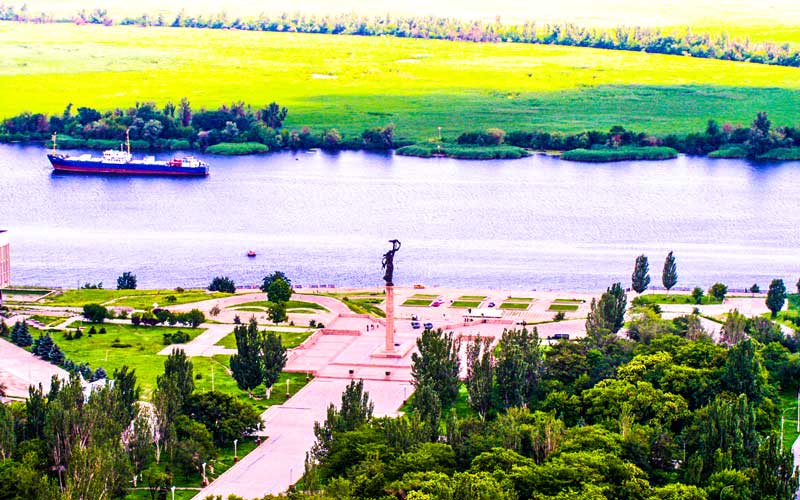Herson-Ukrayna-Nehir