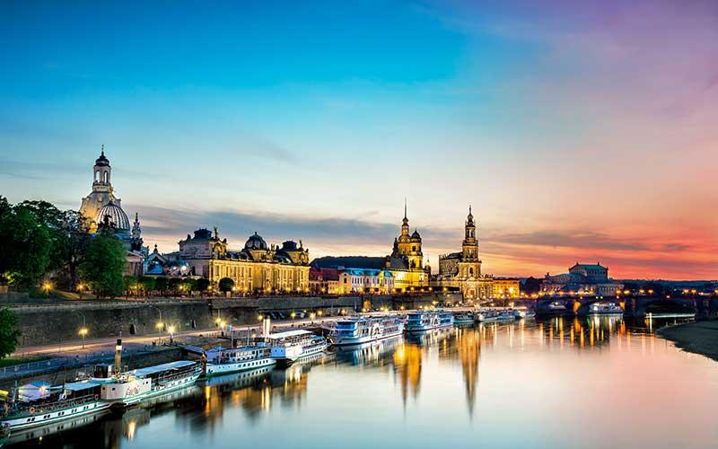 Bruhl, Dresden, Almanya