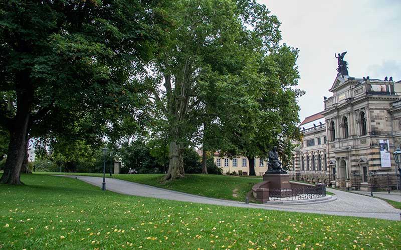 Brühl Terrace, Dresden