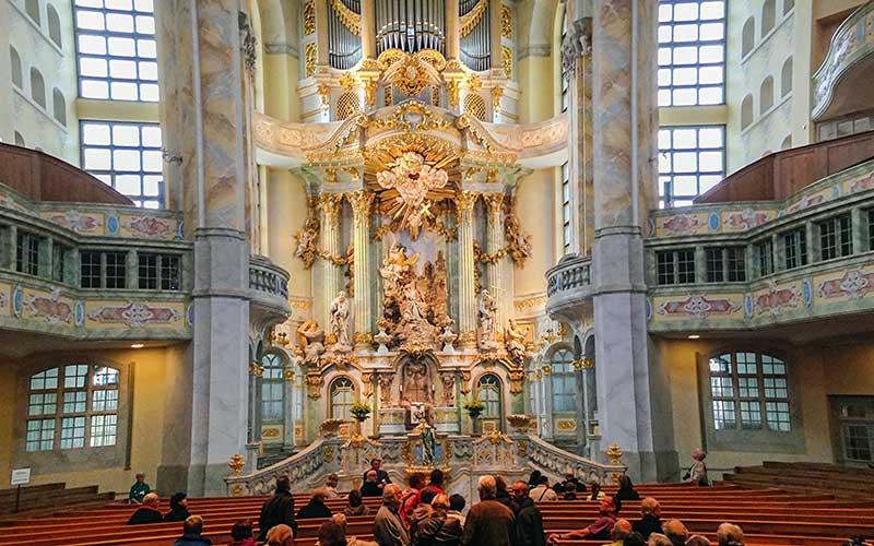 Frauenkirche, Dresden, Almanya