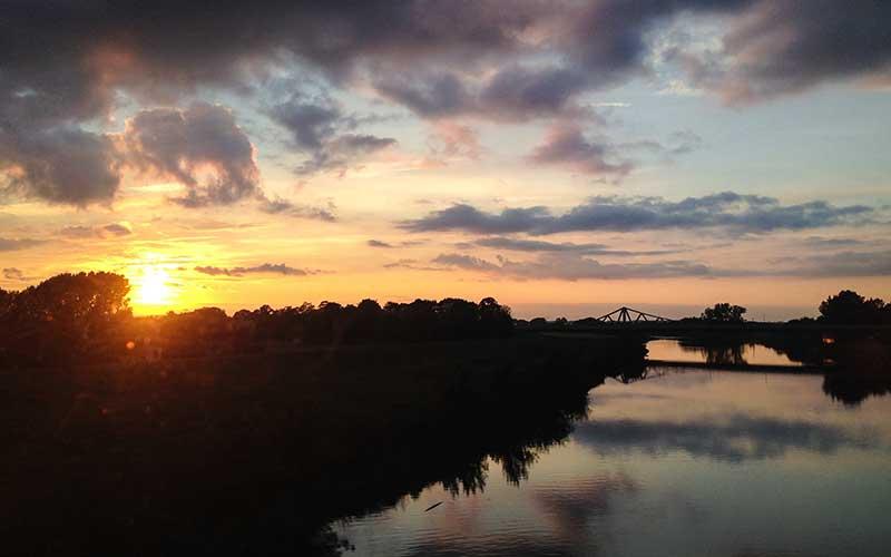 Almanya-Elbe-Nehri