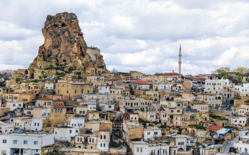 Kapadokya-Ortahisar-Gezilecek
