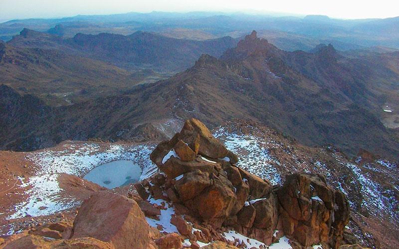 Kenya Dağı, Afrika