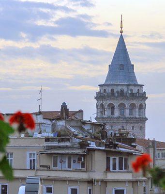 galata kulesi fotografi
