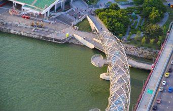 Helix Köprüsü, Singapur