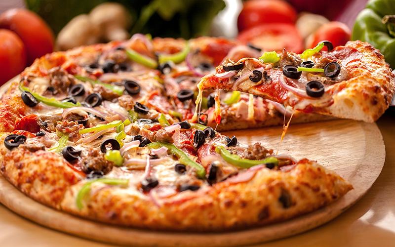 Roma Yemek: Pizza