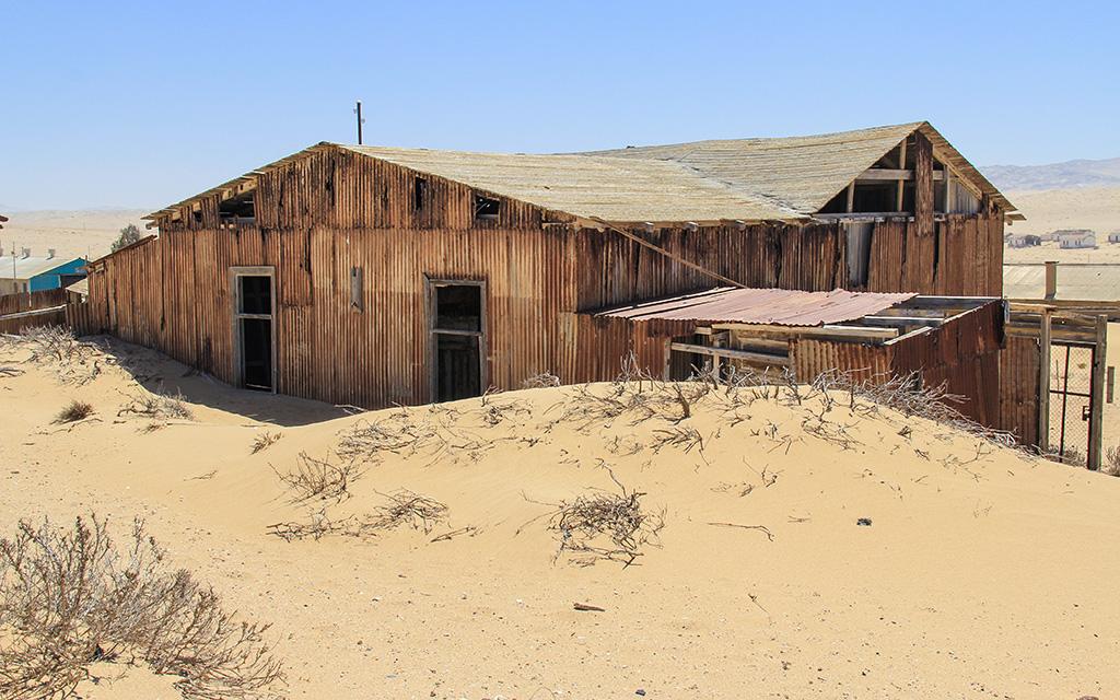 Namibya, Kolmanskop