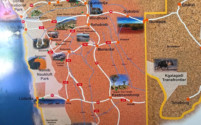 Sossusvlei Map