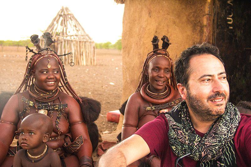Namibya Himba Kabilesi