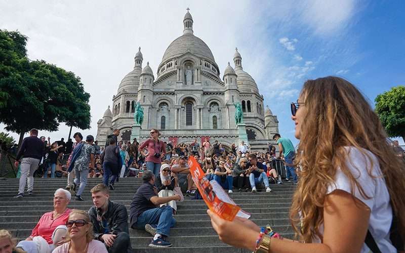Sacre Coeur, Paris, Fransa