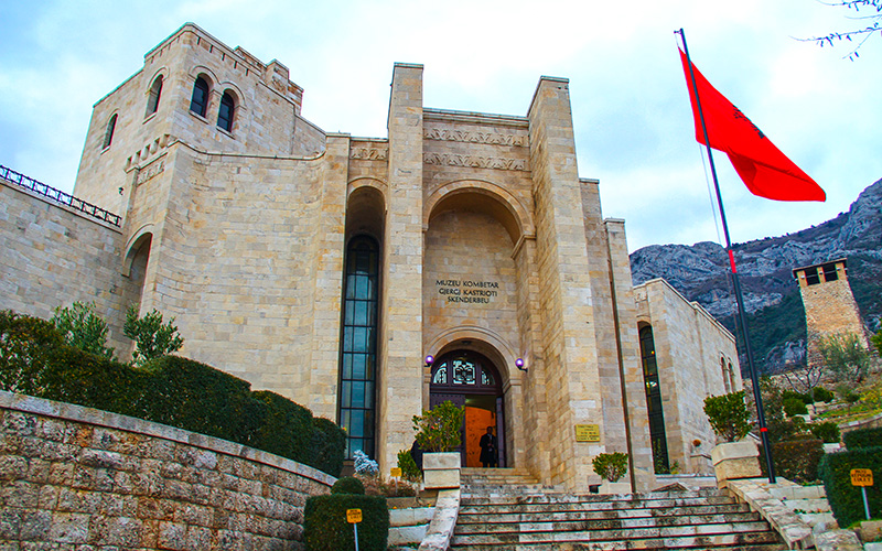 GergiKastrioti Museum, Kruja, Albania