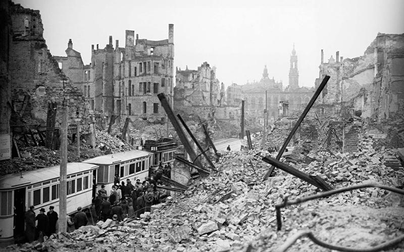 Dresden Bombed