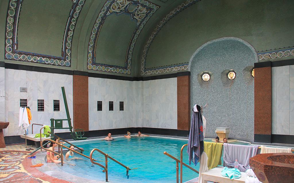 budapest gellert bath
