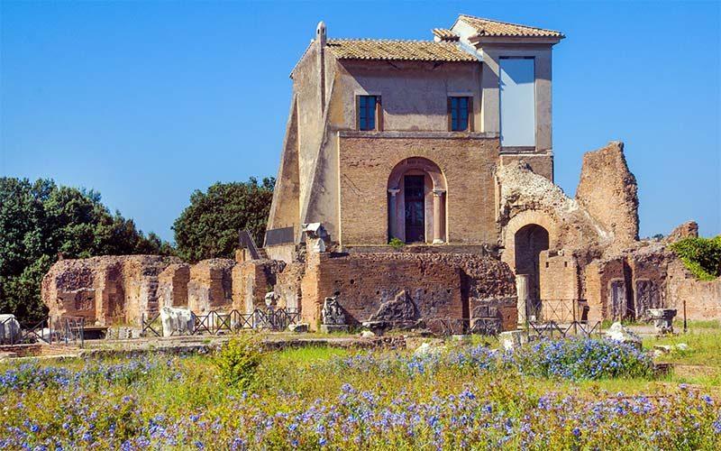 Roma Gezilecek Yerler Palatino-Tepesi