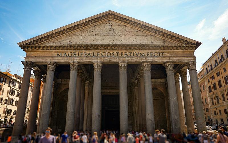 roma gezi rehberi pantheon