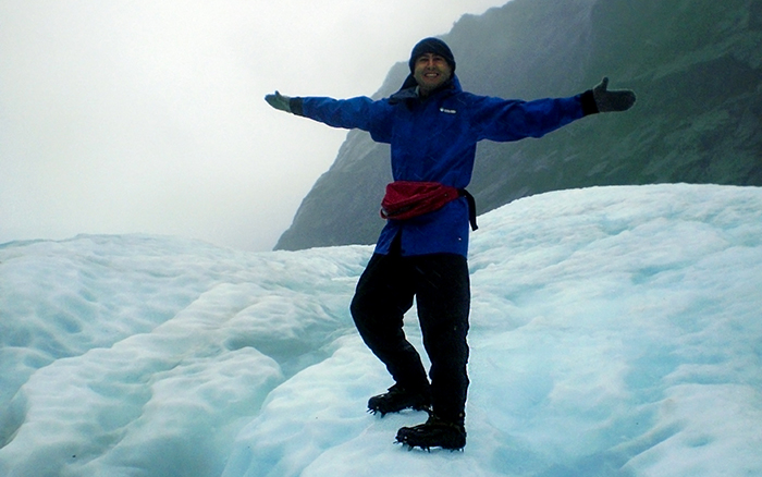 yeni zelanda franz josef glacier