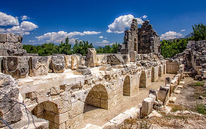 tlos antik kenti nerede