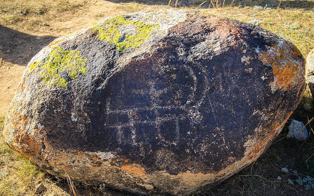 Petroglif Kirgizistan