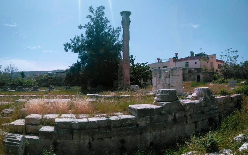 jupiter tapınağı silifke