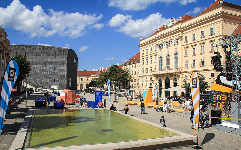 MuseumsQuartier viyana