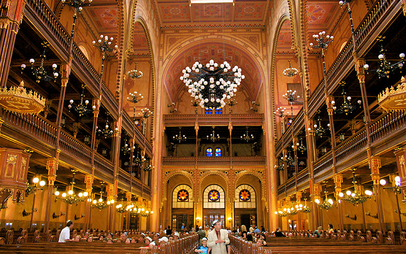 Dohany Sinagogu Budapeşte