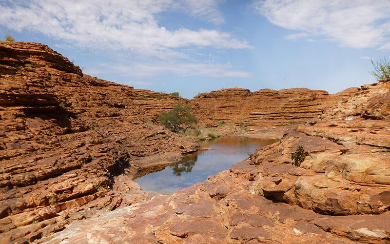 Avustralya Kings Canyon