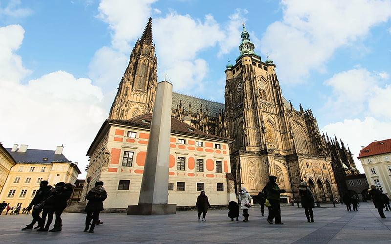St. Vitus Katedrali, Prag