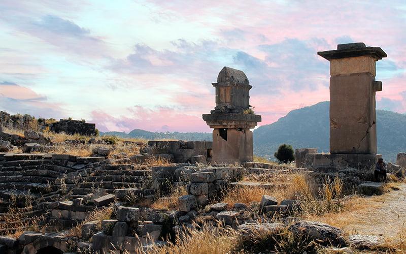ksantos antik kenti