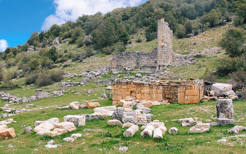 silifke olba antik kenti