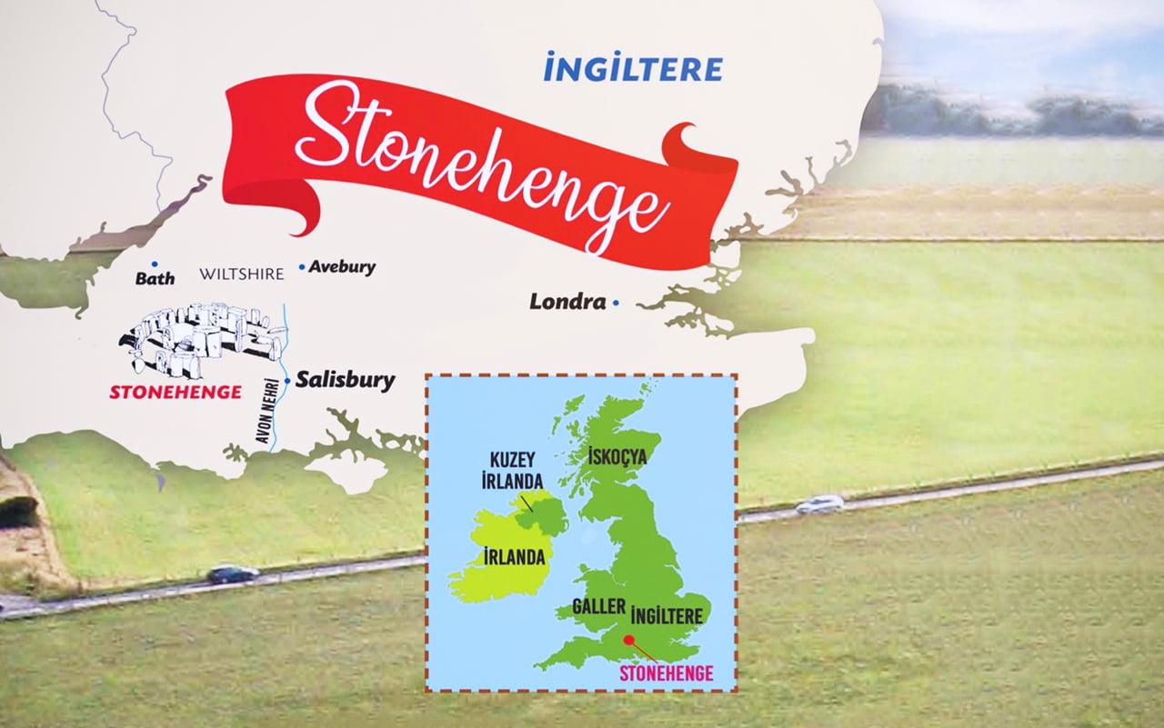stonehenge harita