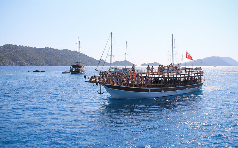 Günübirlik Kekova Tekne Turu